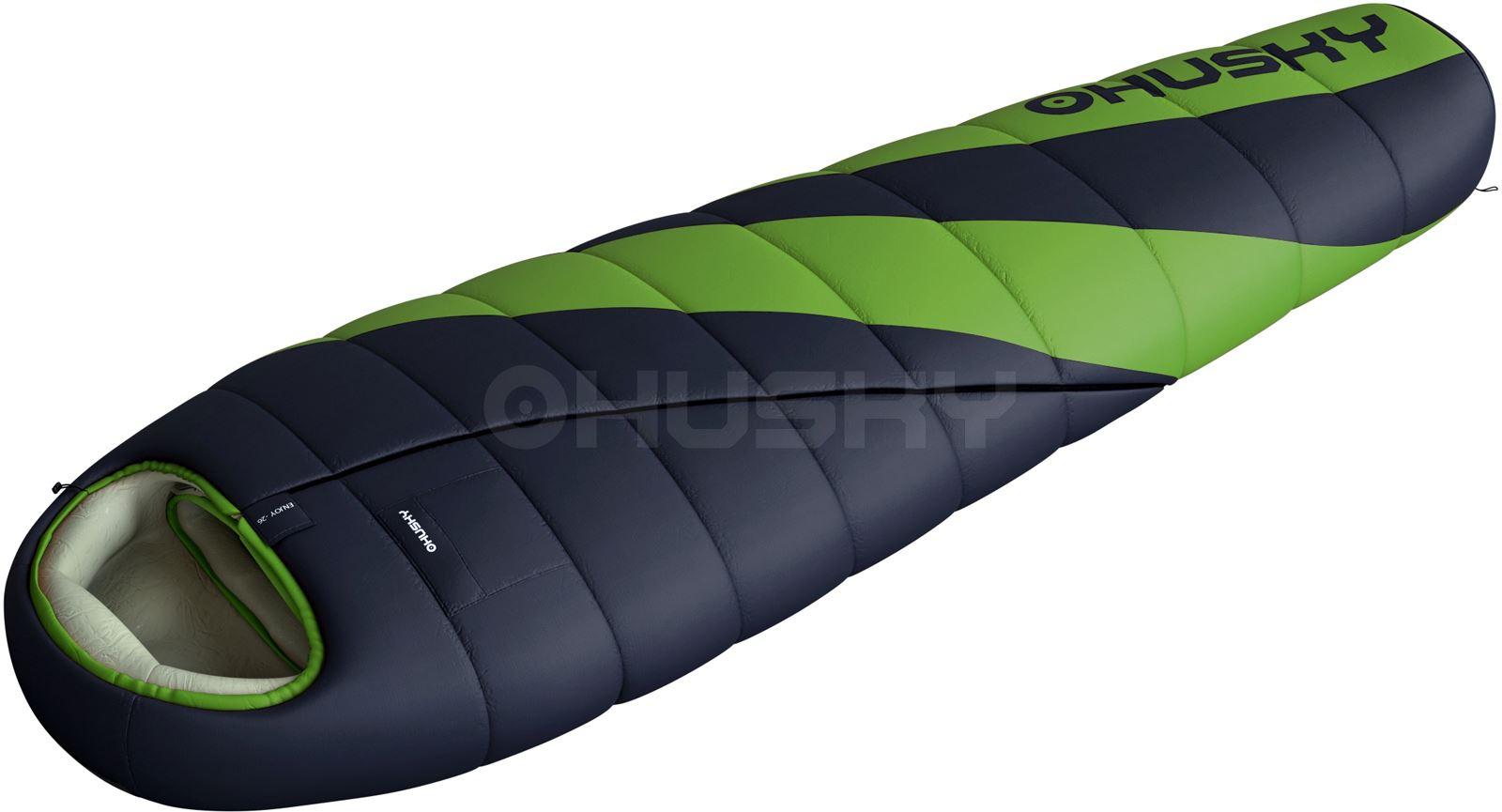 018357a117 Husky Spacák Extreme Espace -6°C zelená